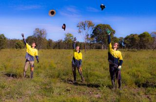 Noosa Landcare celebrate planting 340,000 trees at Elanda Plains.